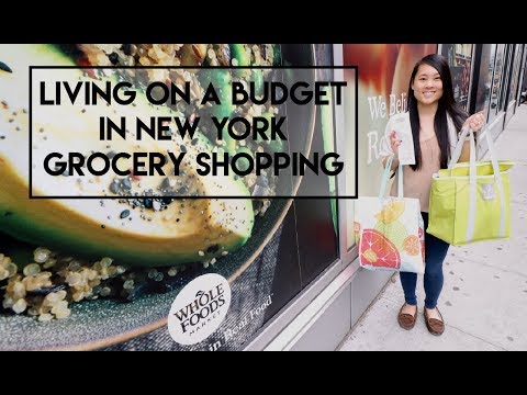 Living On A Budget In New York - Grocery Shopping