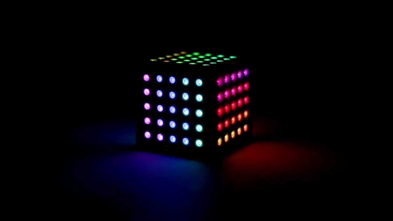 WS2812 NeoPixel Arduino LED Cube with AR and 3D Attitude Estimation  Function—QCoo!