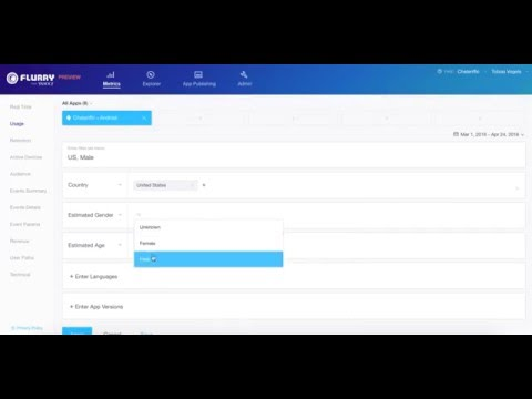 Flurry Analytics - How to Get Started with Filters