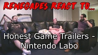Renegades React to... Honest Game Trailers - Nintendo Labo