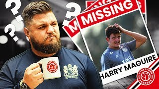 Harry Maguire Misses Leicester City Training | Howson