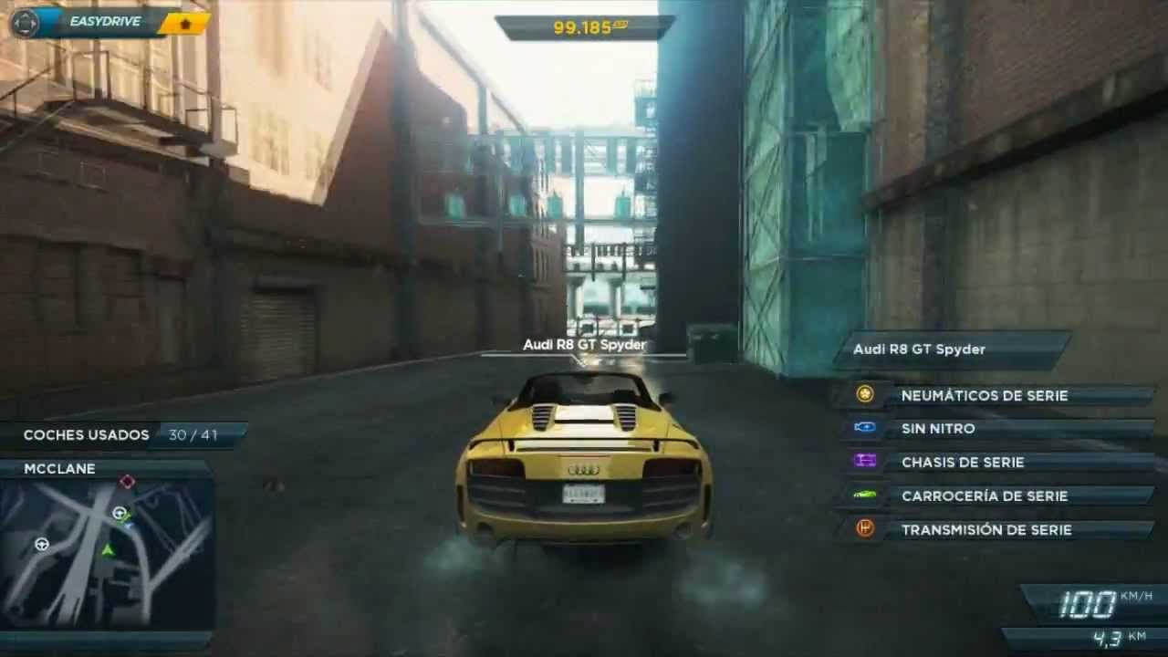 Audi R8 Gt Location Need For Speed Most Wanted 2012 Youtube