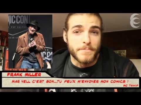 JT Comics #7 - 28/10/15 - Paris Comic Con : Frank Miller, Sin City Homefront, TDK III, New Punisher