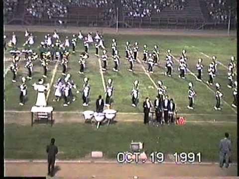 """Nogales High School """"Noble Regiment"""" Band And Pageantry @ The '91 Rowland Field Tournament"""