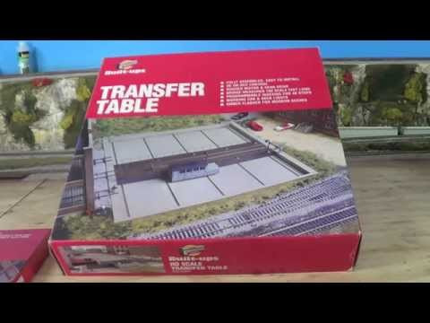 """Walthers Transfer Table"" Model Trains Part 42 ""A"""