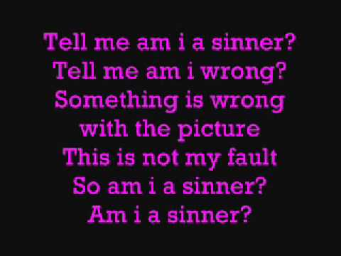 Britney Spears Am I a sinner lyrics