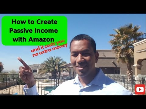 How to Create Passive Income with Amazon