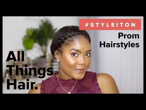 Prom Updos for Natural Hair with Mini Marley – Style It On | All Things Hair