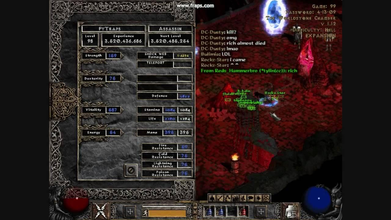 Diablo II LoD: Fail Level 99! - YouTube