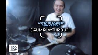 Ascent of Aquarius - Dark Crayola | Drum Playthrough by Tope Domingo