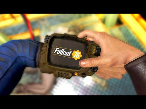 Picking Up The Pip-Boy  - In Every Fallout Game