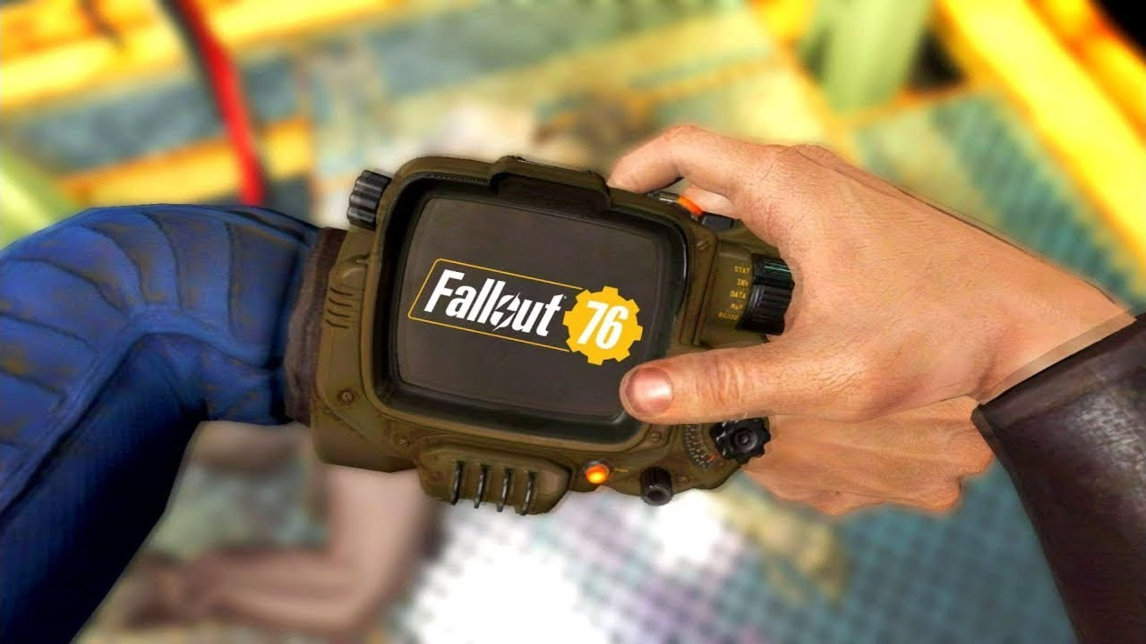 Picking Up The Pip-Boy  – In Every Fallout Game