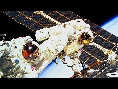 ISS Russian Spacewalk 44 Expedition 54 (Misurkin And Shkaplerov Radio Elecronic Replacement)