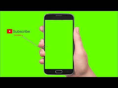Subscribe and  Bell icon Free for You-tubers Green Screen