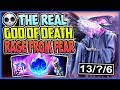 THE REAL GOD OF DEATH | LET THEM RAGE FROM FEAR | Cho'Gath Top Season 8 Ranked League of Legends