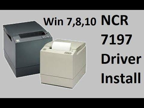 How To Install  NCR 7197 Receipt Printer Driver