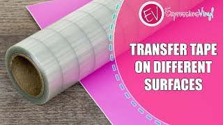 What's the best transfer tape to use with your adhesive vinyl?
