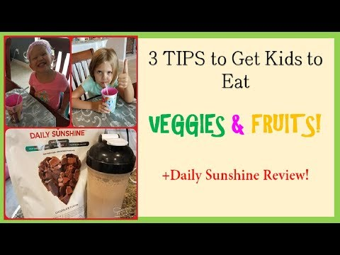 Daily Sunshine Review - Good for Kids that HATE Veggies??