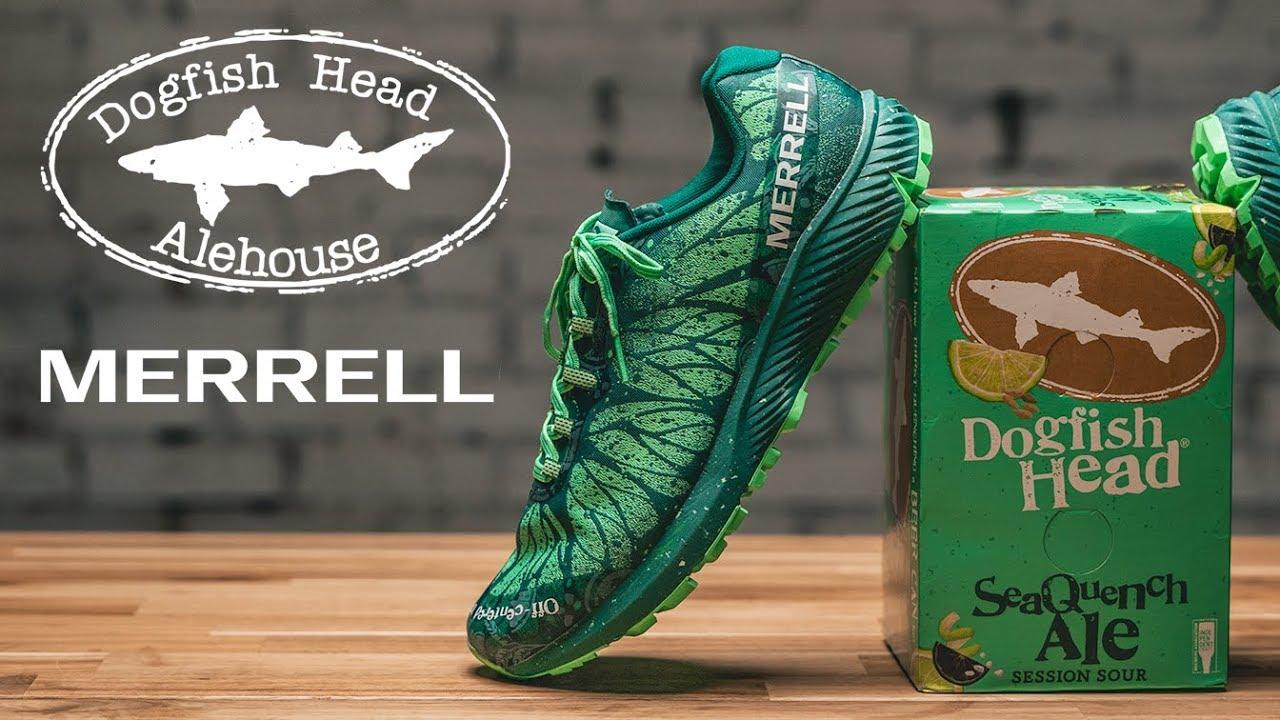 Merrell x Dogfish Head Shoe Collab