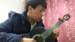 Мелодия из сериала Тысяча и одна ночь Шехрезат на гитаре