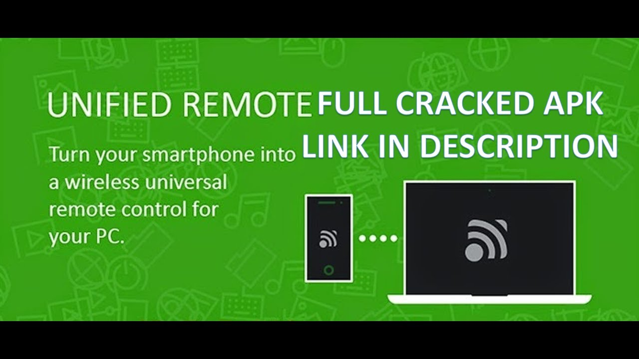 Unified Remote Tutorial turn your smartphone into fully customizable pc  remote