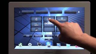 Crestron Touchpanel gui powered by flash