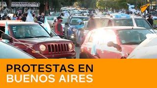 Buenos Aires organiza protestas en pleno Día de la Independencia