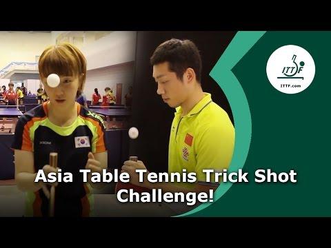 Download Asia Table Tennis Trick Shot Challenge Screenshots