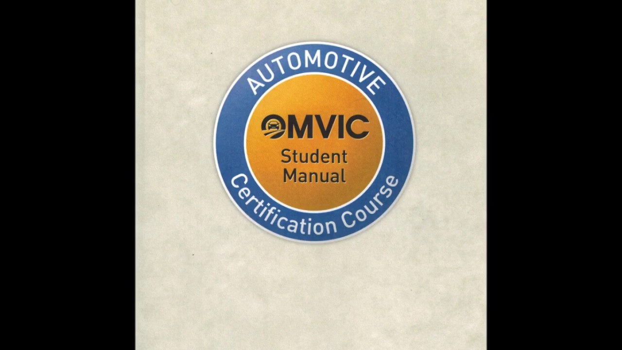 Automotive certification course student manual pdf.