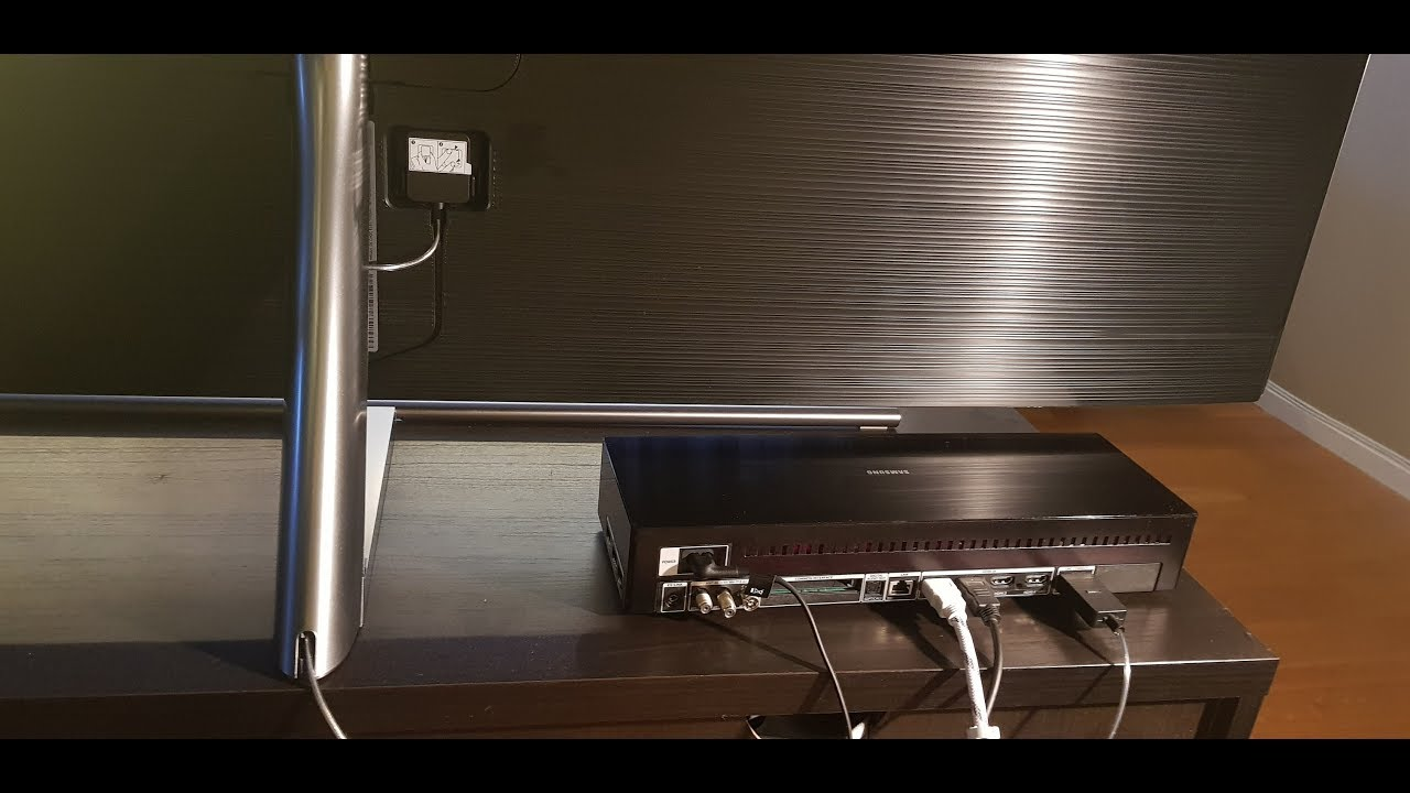 One Connect Box - new revolution from Samsung