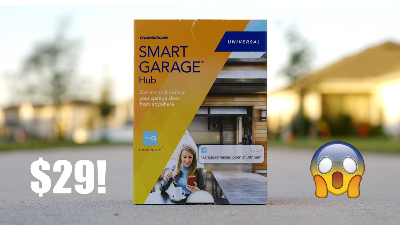 Budget Smart Home Tech: Garage intelligent avec MyQ! + vidéo