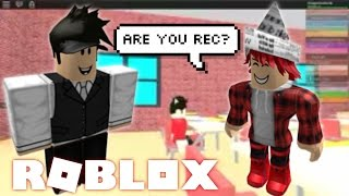 MEETING A FAN!!! | Roblox - Escape The School Obby