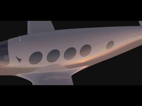 Eviation Alice flight render