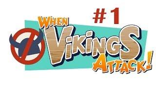 When Vikings Attack! Gameplay #1 Playstation 3 Ps Vita HD