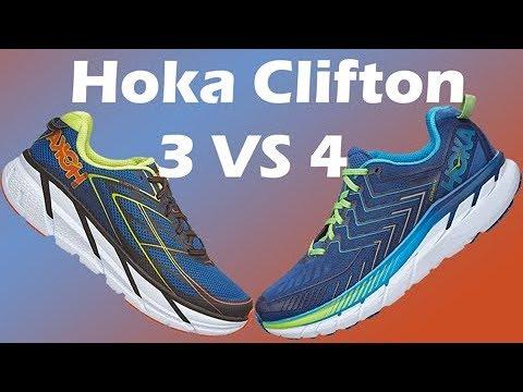 Hoka Clifton 4 First Impressions   Comparison