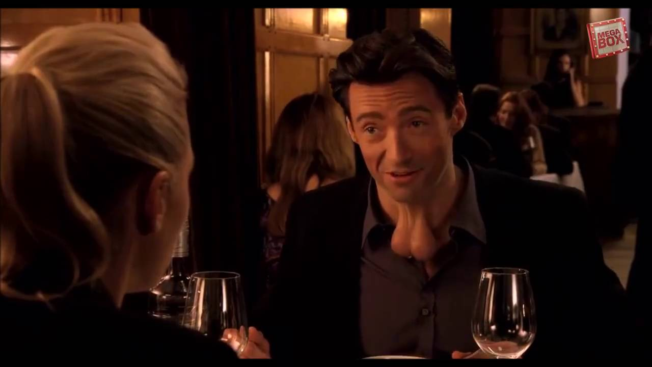 Hugh Jackman Wolverine In Movie 43 Youtube