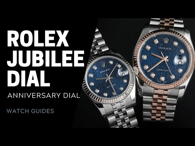 What Is a Rolex Jubilee Dial? | SwissWatchExpo [Rolex Watches]