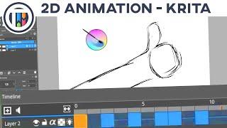 How to Animate in Krita - 2D Animation Tutorial ( My animation process + tips ) | TutsByKai