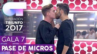 MANOS VACÍAS - Raoul y Agoney | Segundo pase de micros para la Gala 7 | OT 2017