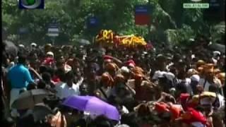 Sabarimala Thiruvabharanam procession-2011