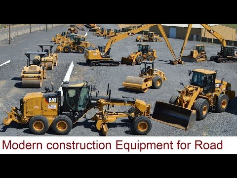 Construction Equipments Used In Civil Engineering | Modern Civil Engineering Machines