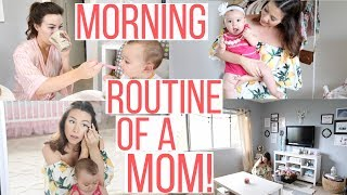 MORNING ROUTINE OF A MOM!| Hayley Paige
