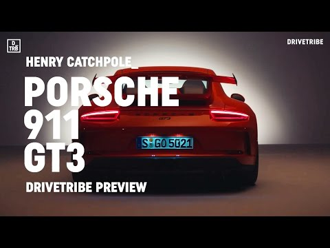PREVIEW: Porsche 911 GT3 – 493bhp 4.0-litre and a manual