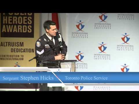 Sergeant Stephen Hicks, Toronto Police