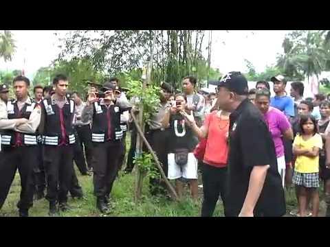 Pdt.Hanny Pantouw siap mati !! gagalkan pembongkaran Gereja di Manado
