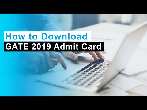 GATE Admit Card 2020 - Download Hall Ticket @GOAPS gate iitm