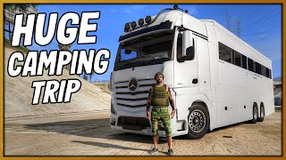 GTA 5 Roleplay - Funny Camping Trip Goes Wrong!! | RedlineRP #839