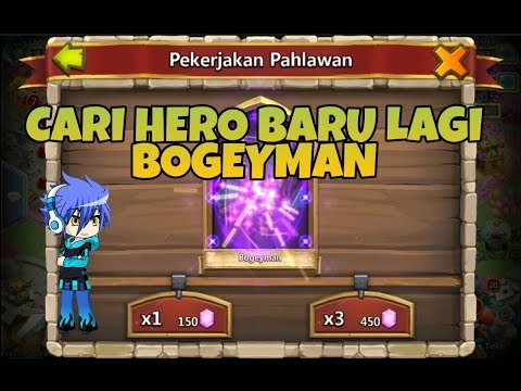 HIRE NEW HERO BOGEYMAN |KONFLIK KASTIL | CASTLE CLASH ID