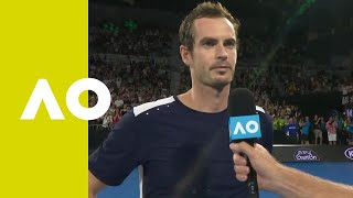 Andy Murray on-court interview (1R) | Australian Open 2019