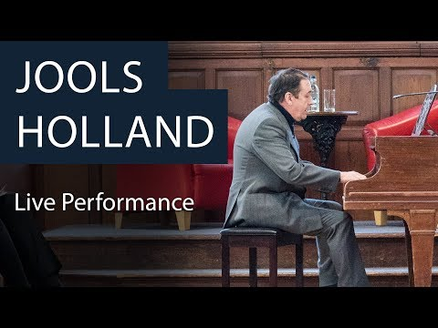 Jools Holland | Live Performance and Q&A at the Oxford Union